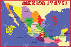 Mexico State Map by 1 945 Mexican State Cliparts Stock Vector And Royalty Free