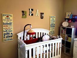 Sports Wall Decals For Nursery by Bedroom Extraordinary Sports Themed Wall Decor All One Ideas