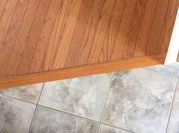 Hardwood Floor Tile Transitioning Hardwood Floor To Tile Floor Is There A Better Way