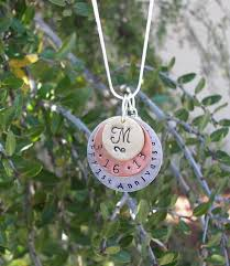 Personalized Charm Necklaces Mommy 3 Layer Personalized Charm Necklace With Kids Names Aftcra