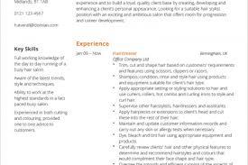 Hairdresser Resume Sample by Hairdresser Hair Stylist Resume Example Hairdresser Resume