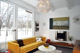 Midcentury Modern Sofas - mid century modern sofa bed living room midcentury with arc lamp