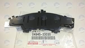 lexus es300 front brake pad replacement toyota oem 0494533020 front brake pad shim disc brake pad shim