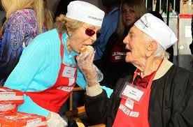 kirk douglas picture 31 the los angeles mission s thanksgiving