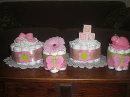 11 best mini diaper cakes baby shower centerpieces images on