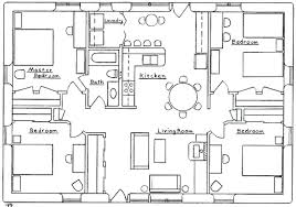 cottage floor plans free 4 bedroom bungalow plans 4 bedroom house designs 4 bedroom house