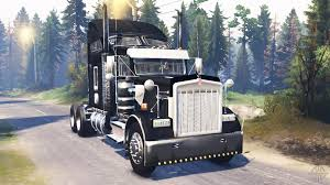 kenworth t900 kenworth w900 v2 0 for spin tires