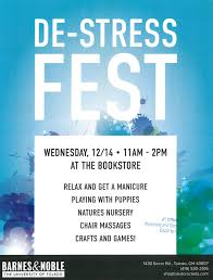 Barnes And Noble Toledo Ut News Blog Archive Bookstore To Host De Stress Fest To Help