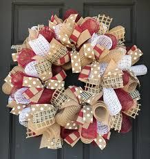 halloween burlap wreath burlap wreath burgundy wreath everyday burlap wreath