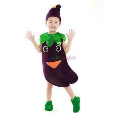 Kigurumi Halloween Costume Fruit Plant Vegetables Children Kid Halloween Kigurumi Costume