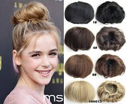 hair pieces for women 80g women s hair bun pad cover synthetic scrunchie donuts chignon