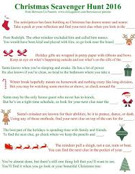 Games To Play In Christmas Parties - best 25 christmas scavenger hunt ideas on pinterest christmas