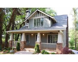Bungalow Craftsman House Plans 166 Best Exteriors Images On Pinterest Exterior House Colors