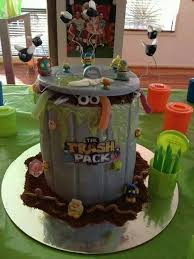 18 cake trash pack images birthday party ideas
