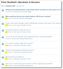 linkedin answers join the discussion career resumes