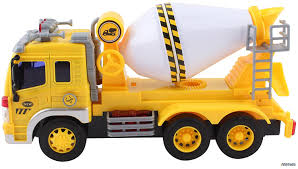 amazon com memtes friction powered cement mixer truck toy with