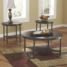 wayfair coffee table sets stylish loon peak blake 3 piece coffee table set reviews wayfair end