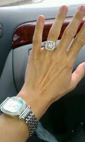 beautiful big rings images Beautiful big engagement ring with sparkling diamonds jpg