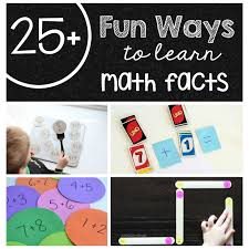 25 fun ways to learn math facts the measured mom