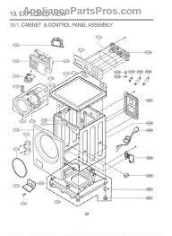 lg 3581er1008z door assembly appliancepartspros com