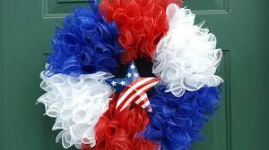 4th of july wreaths 4th of july deco mesh wreath memorial day wreath dollar tree
