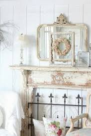 Shabby Chic Fireplace by Ahh Exactly What I Want For The Fireplace In My Apartment Now