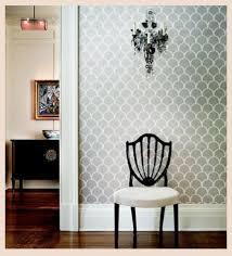 stencils for home decor stencil boss geometric fish scale allover designer pattern wall