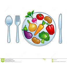 plate of vegetables clipart clipartxtras