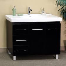 single sink vanity with drawers black wood 39 inch single sink vanity with left side drawers free