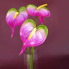 anthurium flower buy artificial anthurium flowers bunch online bandra india