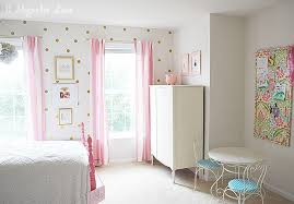 girls room little girl s room decorated in pink white gold 11 magnolia lane