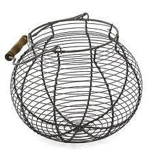 Shabby Chic Wire Basket by Decorative Baskets For The Home In Style French Country Ebay