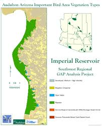 Map Of Yuma Arizona by Imperial Reservoir Iba Arizona Important Bird Areas Program