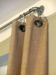 Oversized Curtain Rod Best 25 Shower Curtain Rods Ideas On Pinterest Industrial