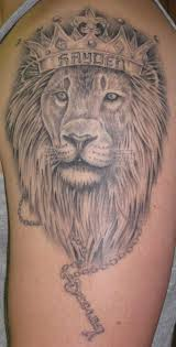 animal lion tattoo on back in 2017 real photo pictures images