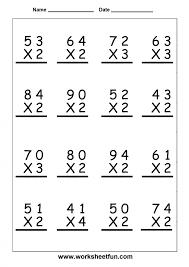 multiplication and division worksheets grade 5 koogra