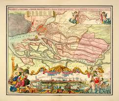 ground plan hamburg 1720 prospect and ground plan germany homann map i