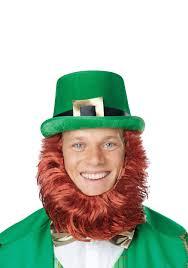 leprechaun hat w attached beard