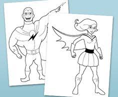 superhero coloring pages schedule summer months