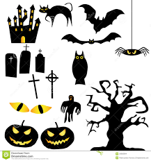 vector halloween vector halloween silhouettes stock images image 26893994