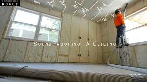 Soundproofing Pictures by Soundproofing A Ceiling Youtube