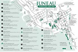 Ohio City Map Juneau Downtown Area Map