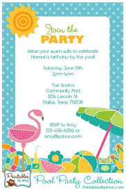 25 unique beach party invitations ideas on pinterest pool party