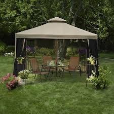Patio Tent Gazebo 10x10 Gazebo Canopy Tent Garden Patio Umbrella Frame Screen House
