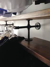 Black Pipe Bookshelf Now This Is A Plumbing Pipe Closet Organizer Domestiphobia