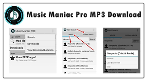 maniac app for android maniac pro mp3 for android