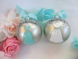 where can i find a of honor or bridesmaid ornament