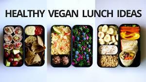 healthy vegan lunch ideas 3 bento box youtube