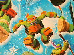 tmnt wrapping paper the sewer den 24 days of turtle day 14 wrapping paper