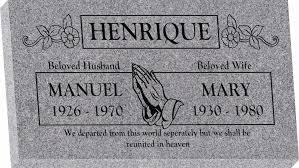 design a headstone 28 x 16 x 3 flat granite headstone honor